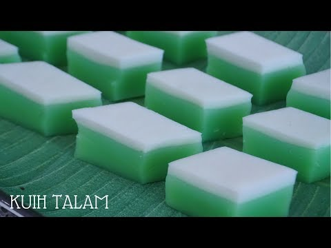 Kuih Talam | IT'S TAM TO COOK