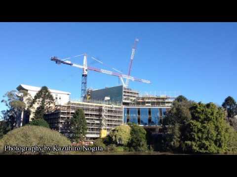 University of Queensland AEB construction