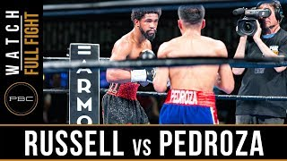 Download Russell vs Pedroza FULL FIGHT: July 13, 2019 - PBC on FS1 Video