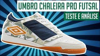 83dd04953 TESTEI A CHUTEIRA UMBRO CHALEIRA PRO FUTSAL! - TESTE E ANÁLISE   REVIEW