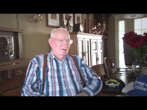 AMS3 Dewey Littlefield, USN  WWII  ( Interview 2013)
