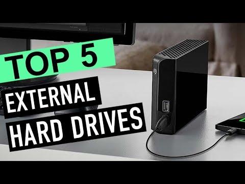 BEST 5: External Hard Drives 2018