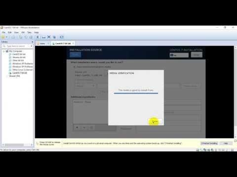 Step-3: Install centOS 7 on vmware (Network/IP Configured)✔️