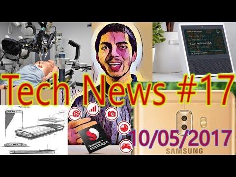 [हिंदी]Tech News #17- Amazon Echo 2 Launched, Samsung C10, OnePlus 5 Benchmark, Robot..