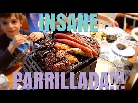 INSANE ARGENTINIAN PARRILLADA - with Chef Antonio Park & Guga Rocha at Montreal's Lavanderia!!!
