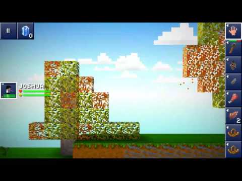 Start to a farm: blockheads let's play