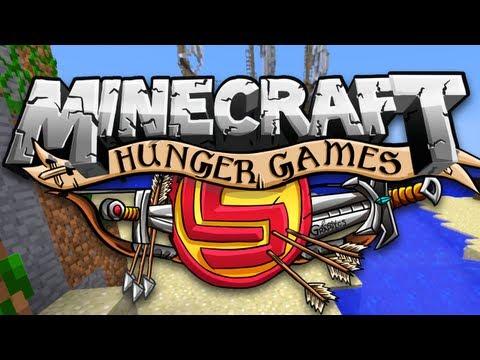 Minecraft: Hunger Games Survival w/ CaptainSparklez - POWER COUPLE!