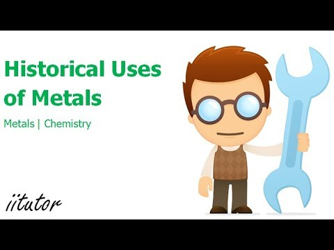 √ Historical uses of Metals | Use of Copper - Use of Iron - Preliminary Chemistry - Chemistry Online