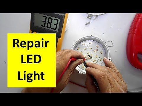 How to Repair LED Light Easily in 4 Minute