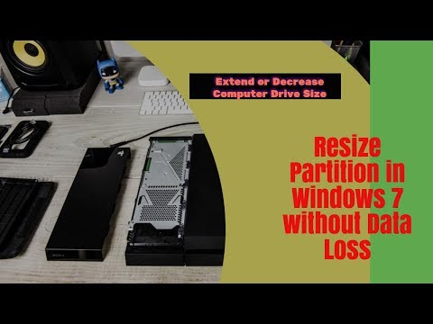 How To Resize & Increase Any Partition Size Without Losing Your Data in Urdu