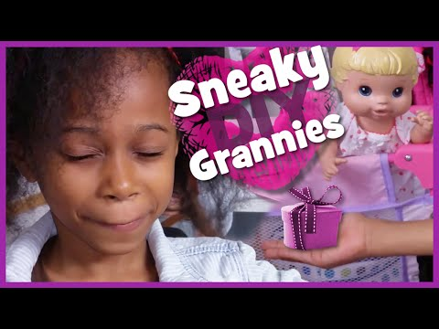 Sneaky DIY Grannie Gifts | New Baby Alive & American Girl type stuff | BlueprintDIY Kids