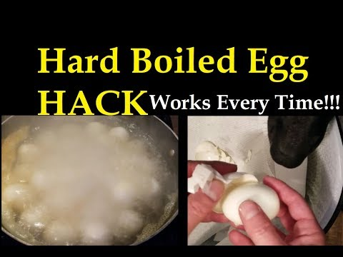 Hard Boiled Egg HACK - You Won't Believe It! Works Every Time!