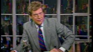 Download NBC-TV David Letterman plays JAM jingles Video