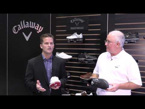 Callaway Mens Balboa Vent Spikeless Golf Shoes at the 2017 PGA Show