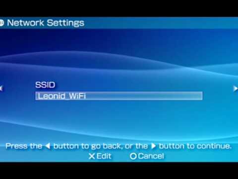 psp internet connection tutorial