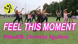 Zumba   Pitbull - Feel This Moment ft. Christina Aguilera   Dance Passion Easy Dance Workout