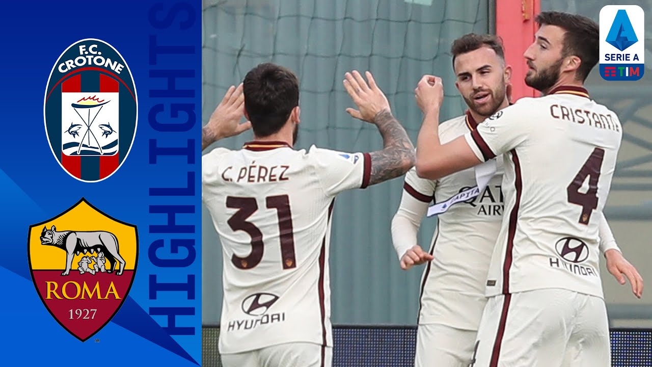Crotone 1-3 Roma   Mayoral scores brace as Roma cruise to claim 3-points   Serie A TIM