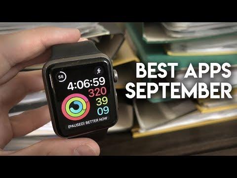 Best Apple Watch Apps - September 2018