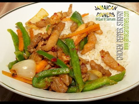 CHICKEN PEPPER STIR-FRY: Asian Americas Dinners