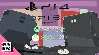 Xbox One vs Ps4 vs Xbox 360 vs Ps3