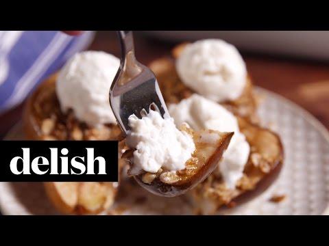 Cinnamon Baked Pears   Delish