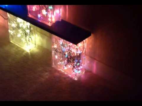 Lit Glass Block 3