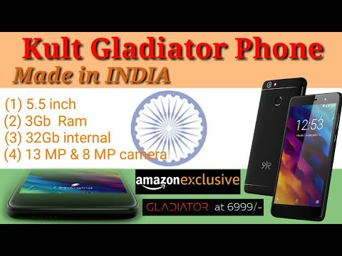 Kult Gladiator phone review | Made in India | Exclusive on Amazon | BAAP of budget phones