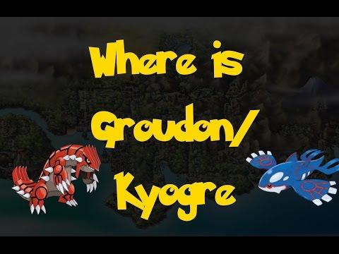Where Is: Groudon/Kyogre (Pokemon Heart Gold/Soul Silver)