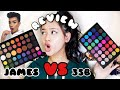 JAMES CHARLES VS MORPHE 35B Which Is Better Swatches Review Elisa Rose