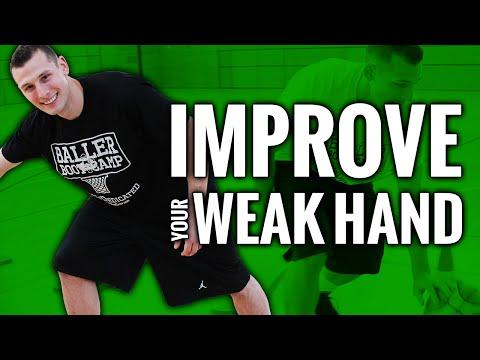 Weak Hand Dribbling Drills For Basketball #WeDedicated