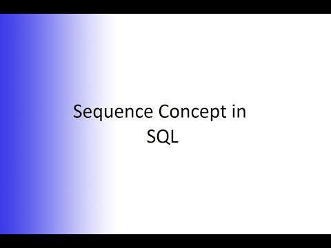 Sequence Concept in Oracle SQL || In Telugu