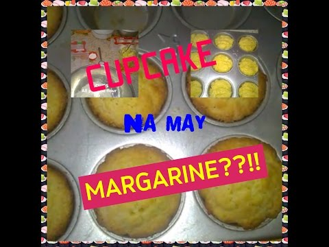 how to make cupcake?(step by step)with margarine