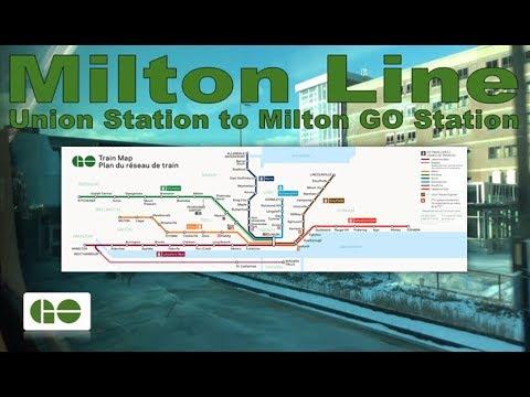 Milton Line - GO Transit 1989-90 Can-Car Rail BiLevel IV 2340 (Union Station to Milton GO Station)