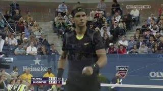 Nadal v Djokovic - Us Open 2010 Final .. 720p50
