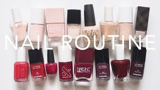 Nail Polish Routine | At-Home Manicure Tutorial, Tips and Tools