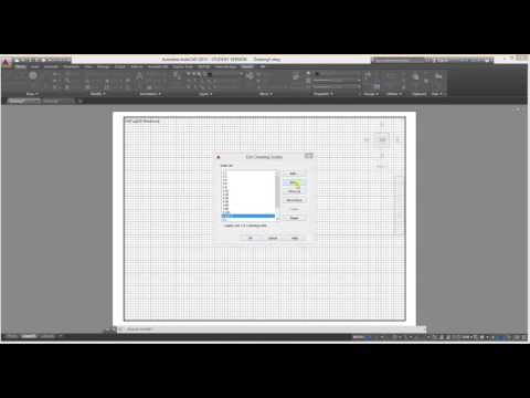 how to plot your autocad dwg in METERS or MILLIMETER