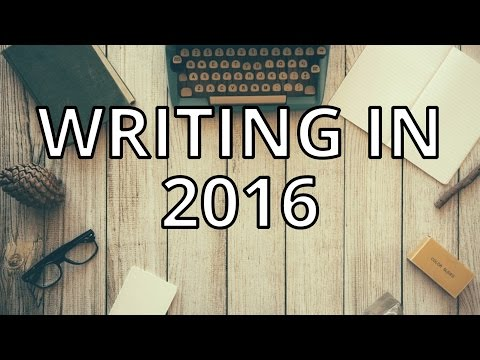 Five Great Things for Writing in 2016