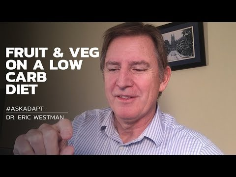 #AskAdapt: FRUIT & VEG ON A LOW CARB DIET
