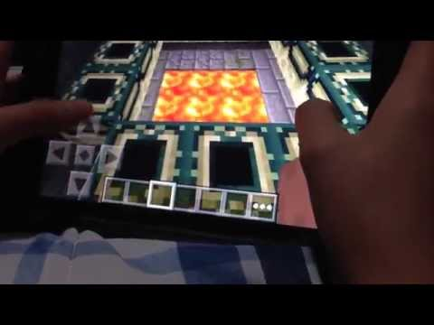 ¡Como Llegar al Portal del End! - Minecraft PE 0.9.5