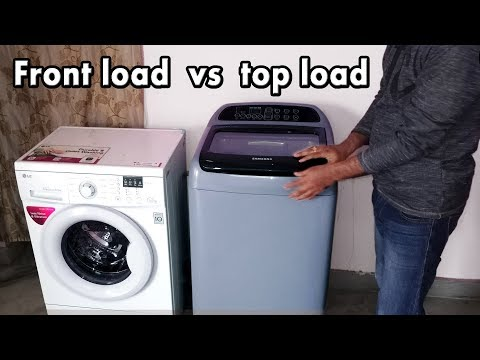Front load vs top load washing machine   top load vs front load washer   best washing machine