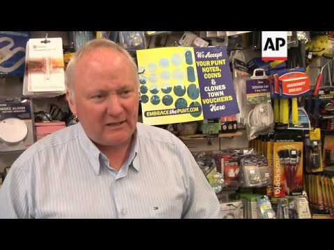 VILLAGE RESIDENTS BRING BACK IRELAND'S OLD CURRENCY
