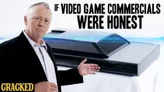 If Video Game Commercials Were Honest - Honest Ads (Playstation X-Box Gamer Video Games Parody)
