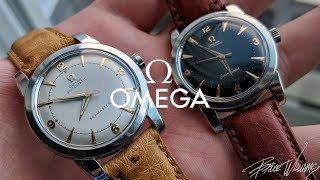 1940s Omega Seamaster - Gorgeous Bumper Movement Watches