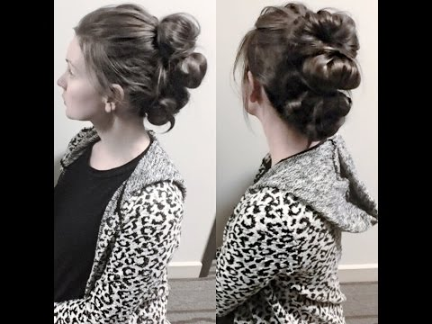 Quick & Easy Big Updo/Hairstyle!