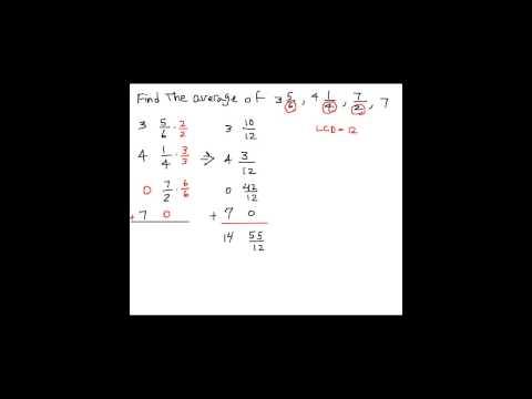 Average of Fractions (THT1 #12)