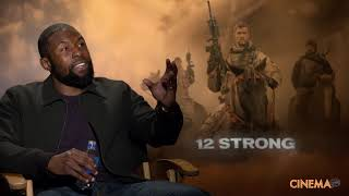 "Trevante Rhodes Interview for ""12 Strong""."