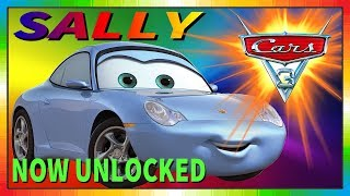 Cars 3 Driven to Win - gameplay - Sally