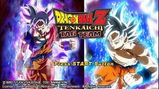 New DBZ TTT MOD V7MOD MENU With New BT3 Attacks And Characters And