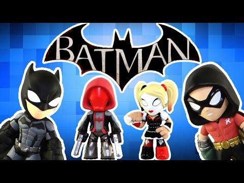 Batman Arkham Knight Mystery Minis Surprise Batman Toys ft  Batman Robin Nightwing and More