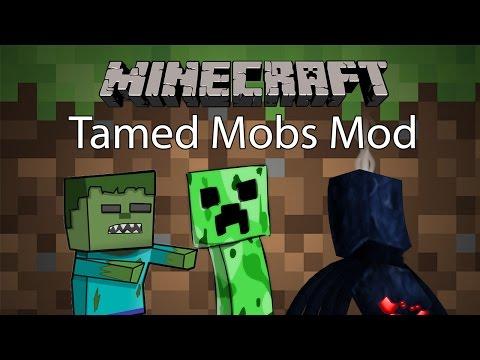 Minecraft Mod รีวิว - Mod เชื่อง | Tamed Mobs Mod